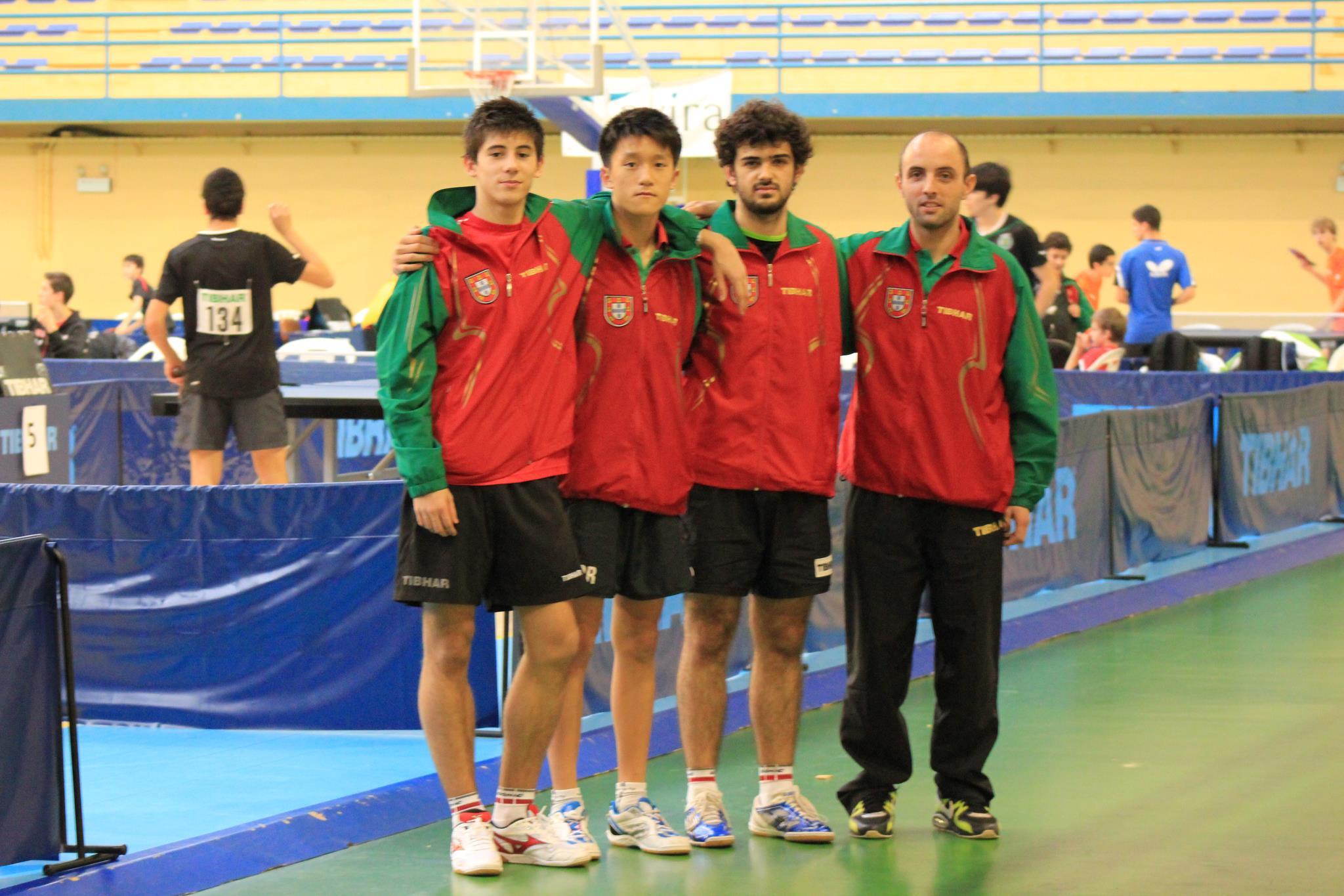 Open Portugal – Juniores alcançam 2º lugar na prova