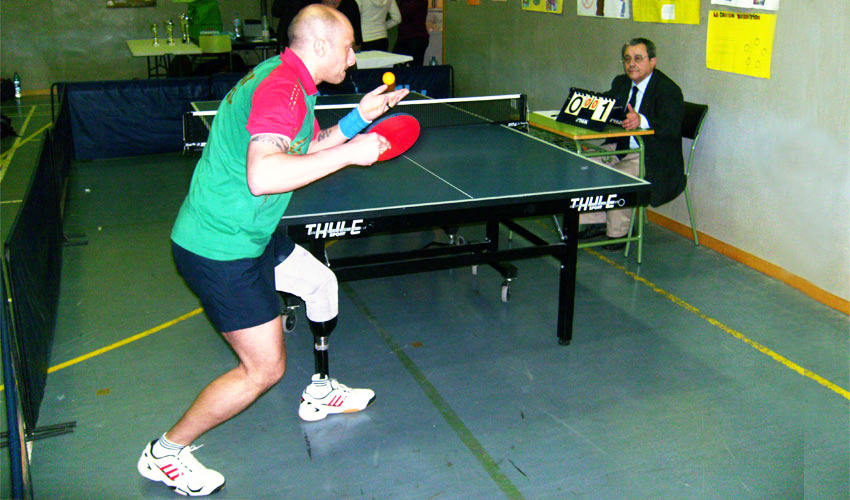 Nuno Pontes vence Torneio Paralímpico em Espanha