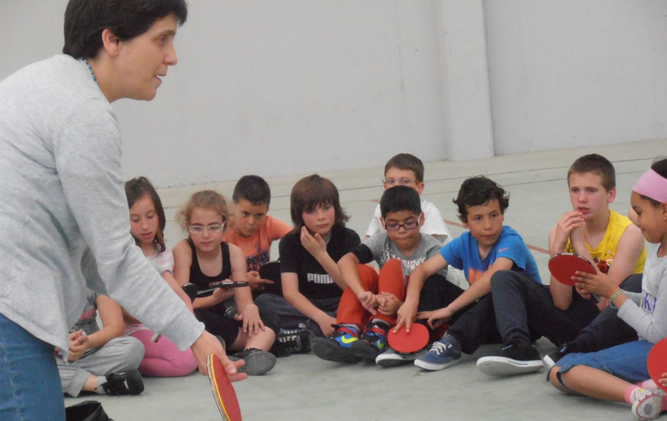 O Ténis de Mesa Vai à Escola em Vila Nova de Gaia