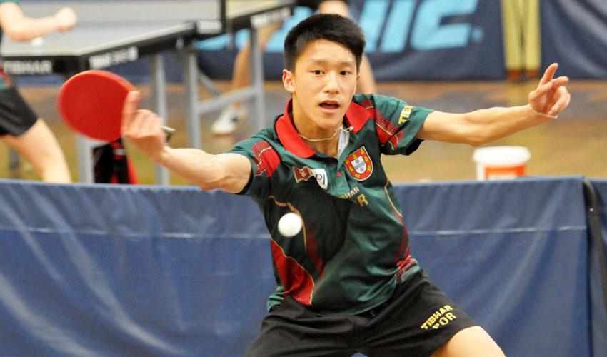 Geraldo em 7.º e Chen em 9.º no Top 10 Europeu de Jovens