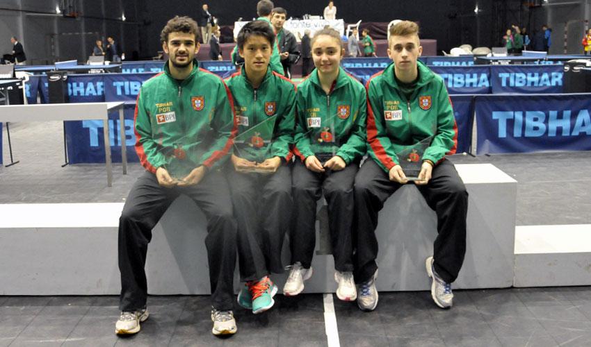 Portugal conquista quatro títulos em Singulares no 21.º Open de Portugal