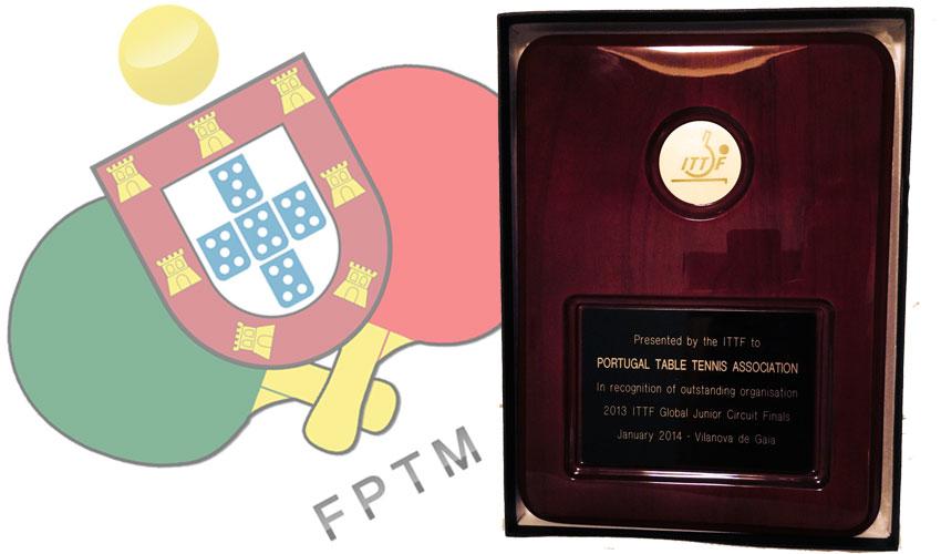 FPTM galardoada pela Federação Internacional