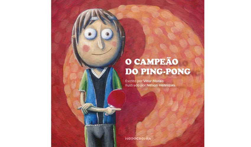 """Vítor Morais promove """"O Campeão do Ping-Pong"""" no Seixal"""