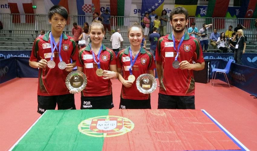 Presidente do IPDJ felicita atletas pelo Europeu de Jovens