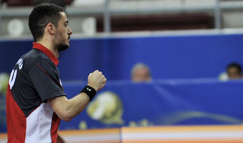Marcos Freitas com ouro e bronze no Open do Qatar