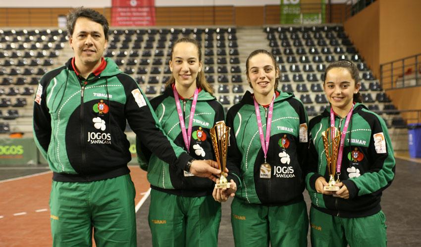 Portugal alcançou sete medalhas no Open de Portugal