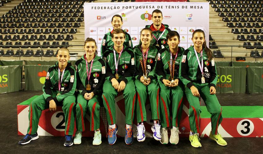 Duas medalhas no Open de Portugal