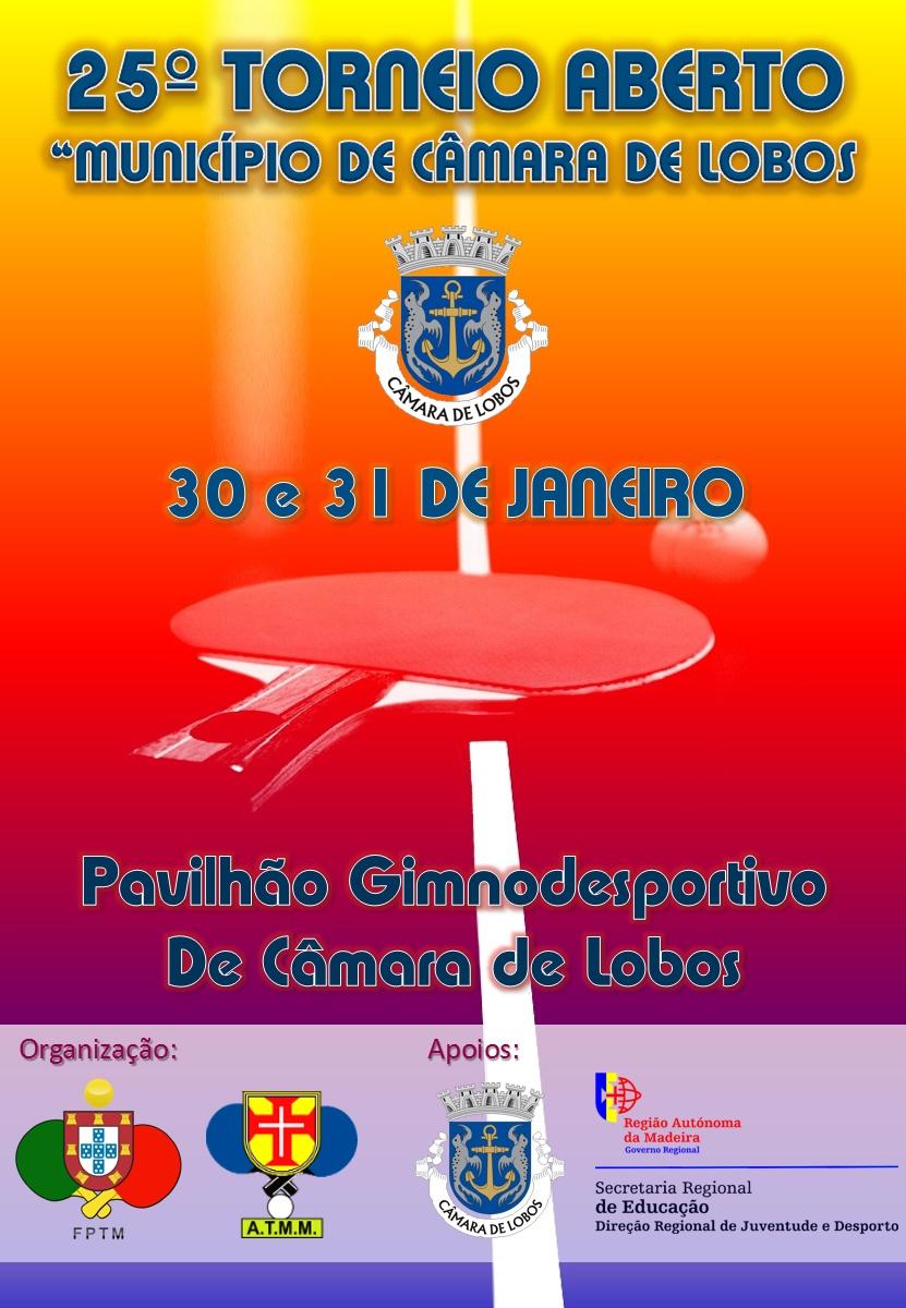 25º TORNEIO DE CÂMARA DE LOBOS