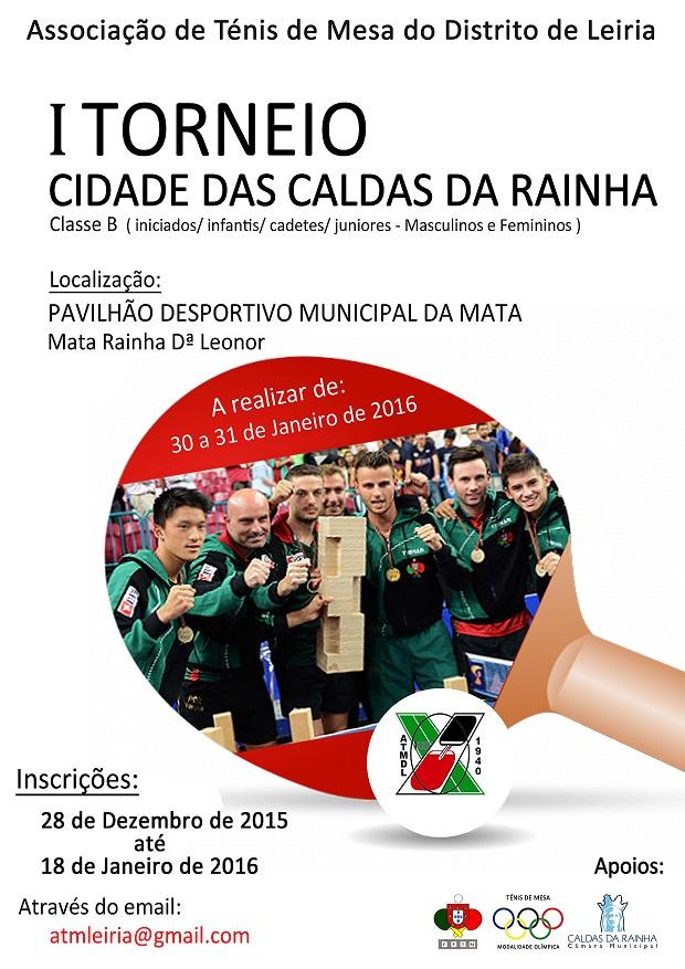 1º TORNEIO CIDADE CALDAS DA RAINHA