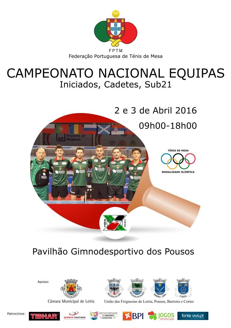 Campeonato Nacional Equipas Iniciados Cadetes e Sub21