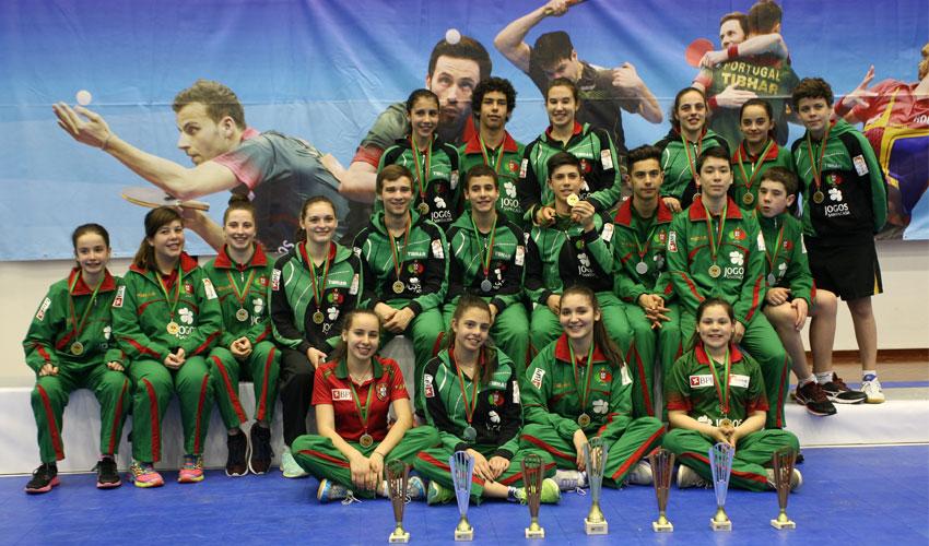 Mais 11 medalhas no Open de Portugal
