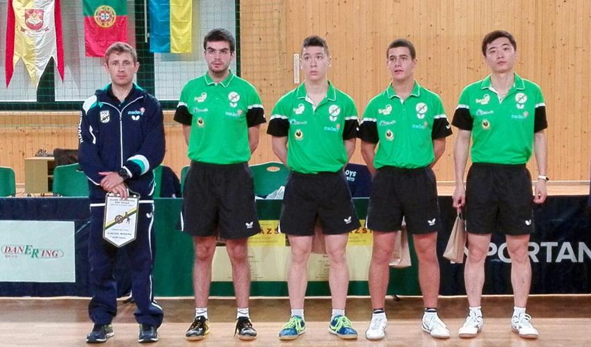 Taça ETTU masculina com quatro equipas lusas
