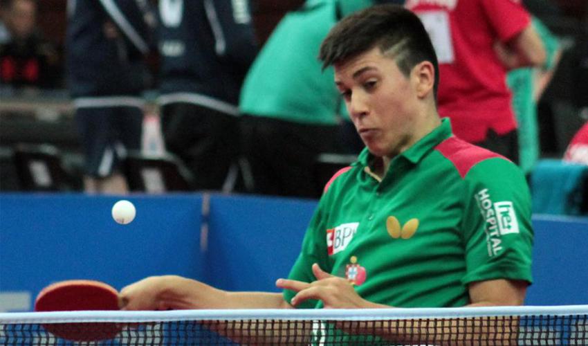 Mundial Juniores: José Francisco eliminado em Singulares
