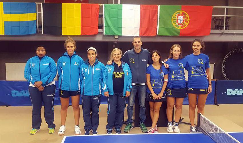 Três equipas portuguesas femininas na Taça ETTU