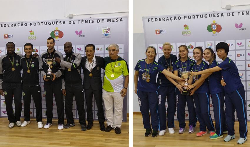 Sporting CP e CTM Mirandela vencem Supertaça