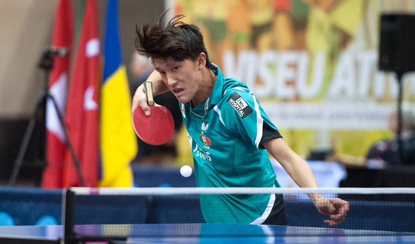 Diogo Carvalho e Diogo Chen nos oitavos de final do Open de Espanha