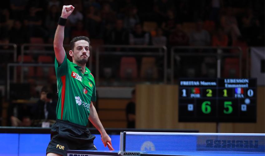 Open da República Checa: Marcos Freitas nas meias-finais