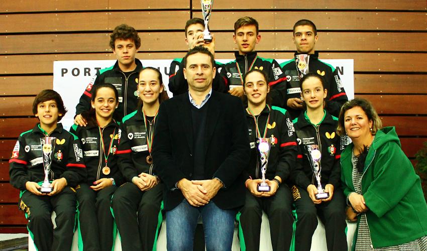 Open de Portugal encerra com mais cinco medalhas