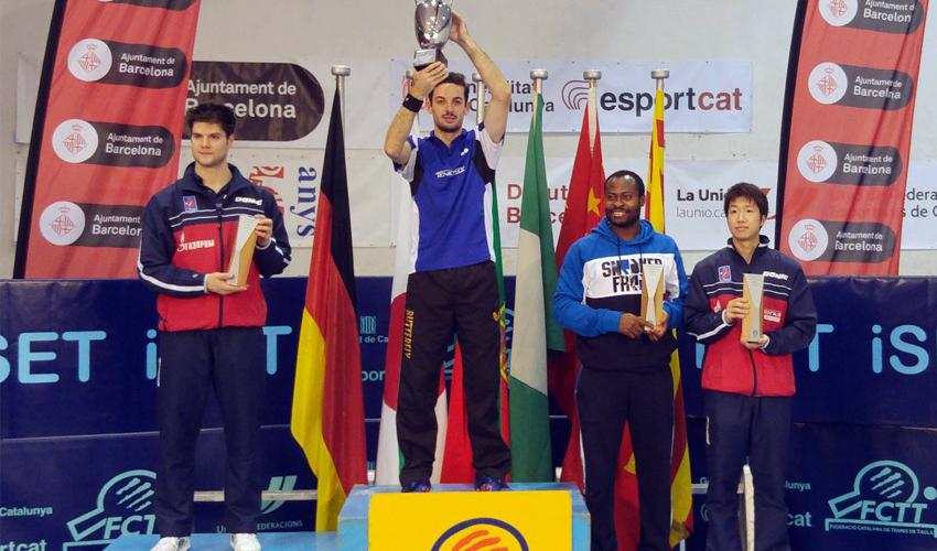 Marcos Freitas vence o Torneio Ciudad de Barcelona