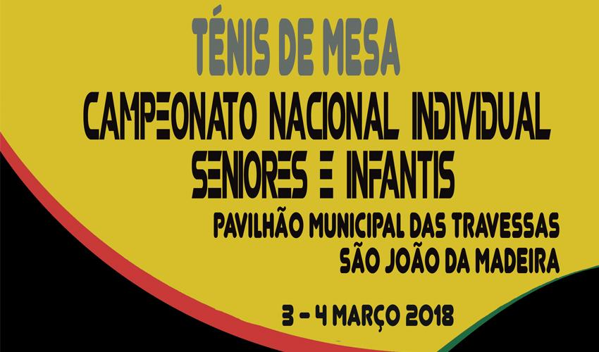 Inscrições para o Campeonato Nacional Individual de Seniores e Infantis