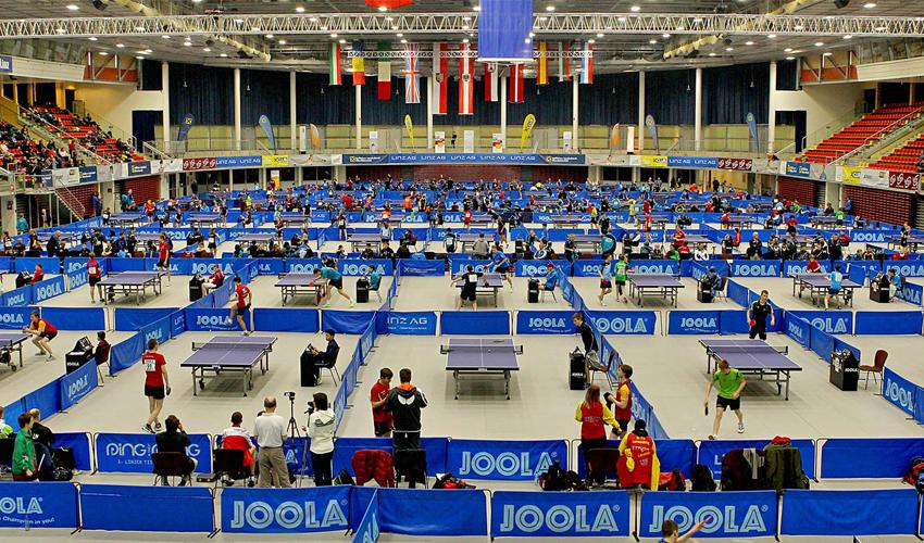 Seleção Nacional para o Open de Linz