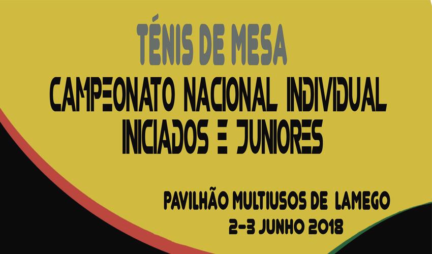 Nacional Individual de Iniciados e Juniores com 235 atletas
