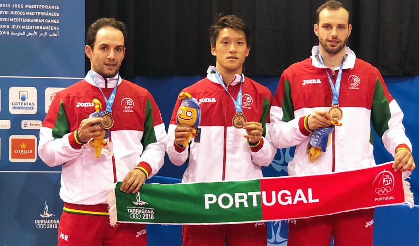 Tarragona 2018: Portugal conquista medalha de bronze