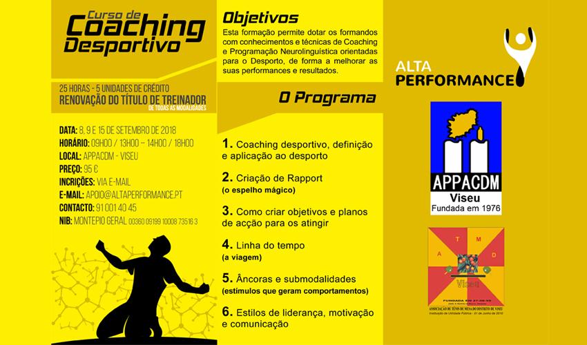 Curso de Coaching em Viseu
