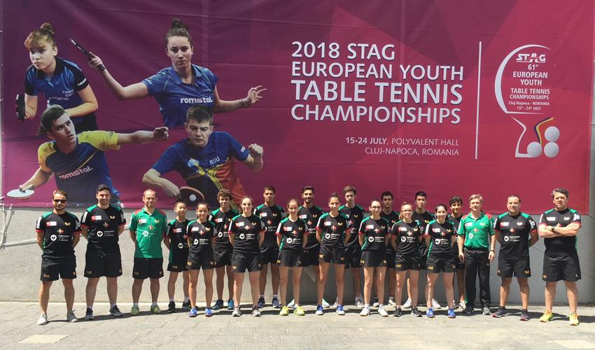 Europeu de Jovens: Competições individuais tiveram início