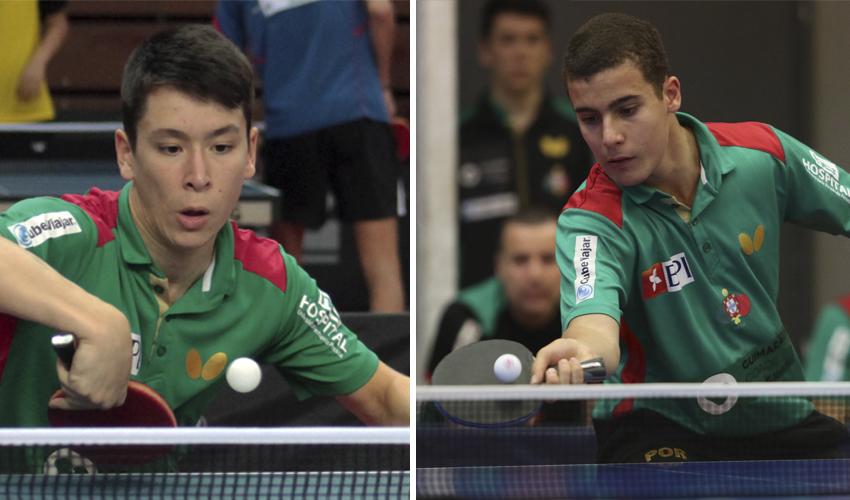 Tiago Li e Vítor Amorim terminam participação no Mundial de Juniores