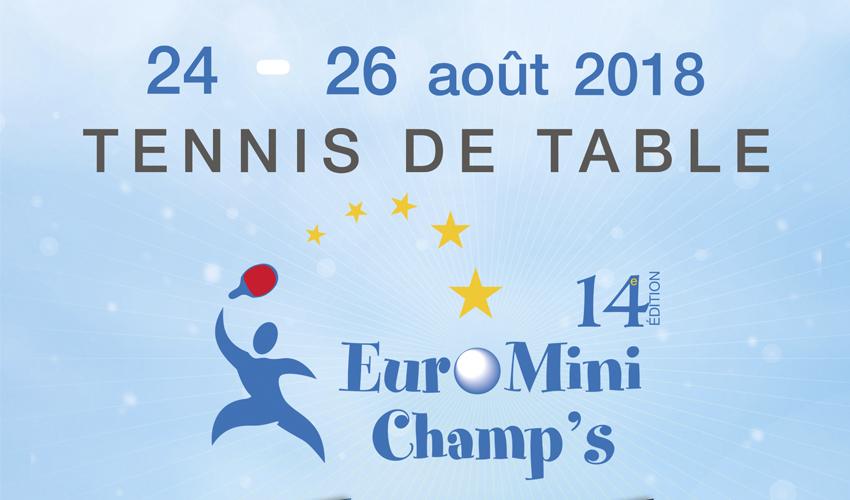 Atletas portugueses no Euro Mini Champs