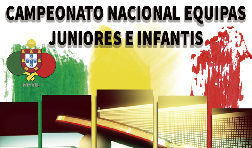 Sorteio do Campeonato de Equipas de Infantis e Juniores