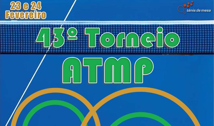 Resultados do 43.º Torneio Aberto da ATM Porto