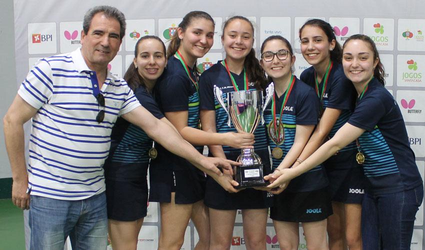 Novos campeões nacionais da 2.ª Divisão