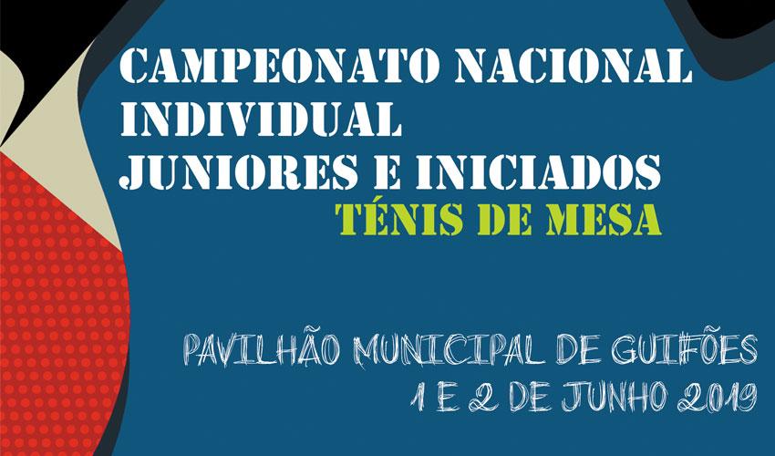 Sorteio do Campeonato Nacional Individual de Juniores e Iniciados
