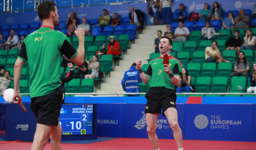 Portugal conquista medalha de bronze em Minsk