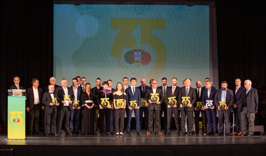 Premiados na Gala dos 75 Anos da FPTM