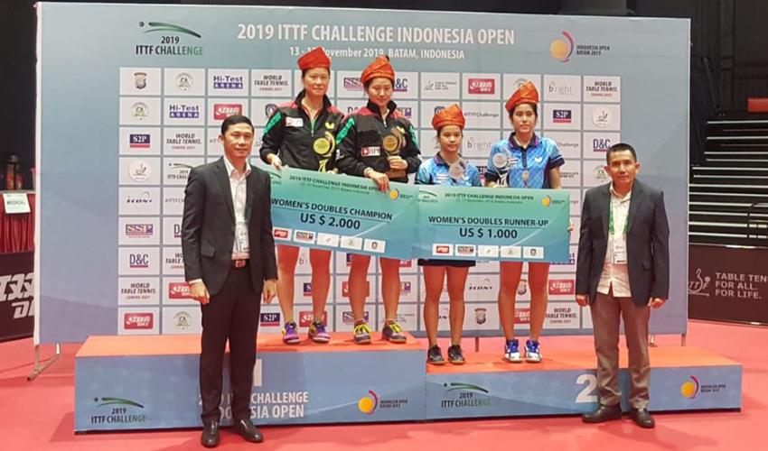 Portugal vence singulares e pares no Open da Indonésia