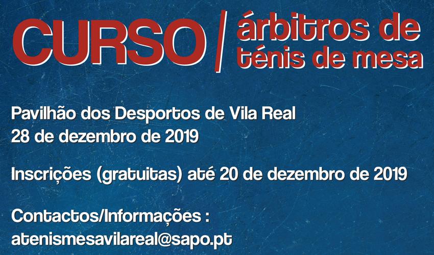 Curso de árbitros em Vila Real