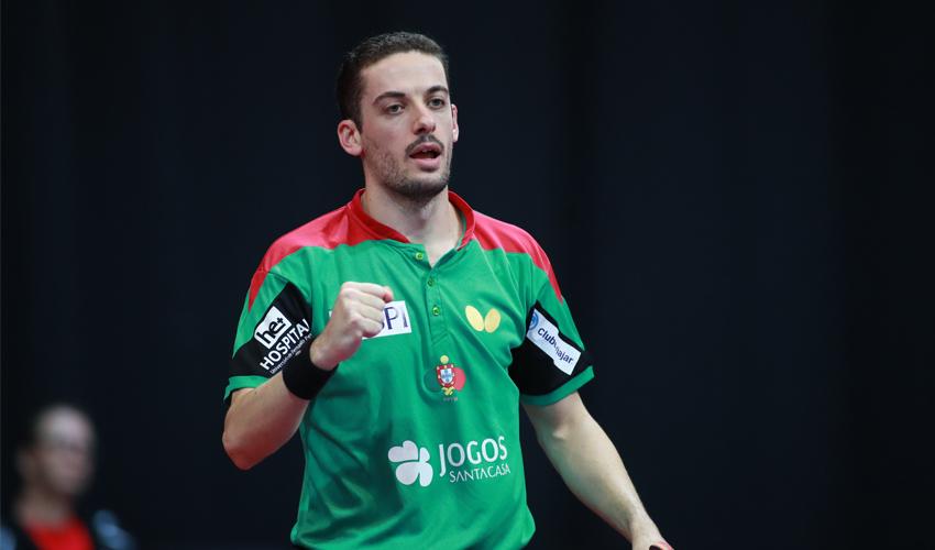 Marcos Freitas nas meias-finais do Open de Omã