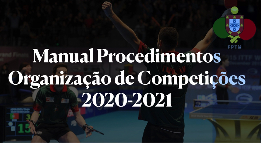 Manual de Procedimentos para Organização de Competições em contexto Covid-19