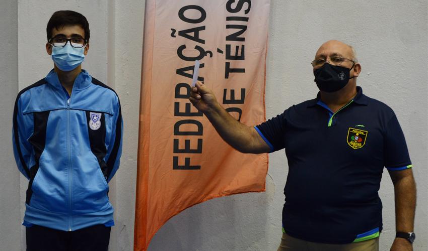 Dinis Costa recebe Cartão Branco por atitude excecional de Fairplay