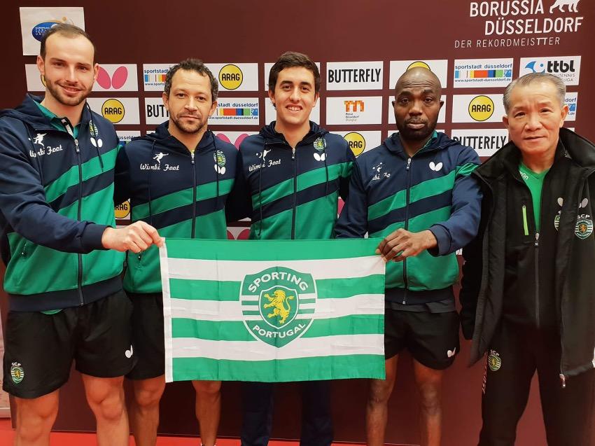 Liga dos Campeões: Sporting e Marcos Freitas nos quartos de final