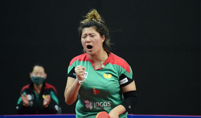 Shao Jieni apurada para a 3.ª eliminatória da Qualificação Olímpica