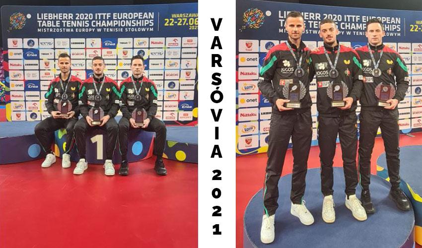 Marcos Freitas conquista segunda medalha de bronze no Europeu