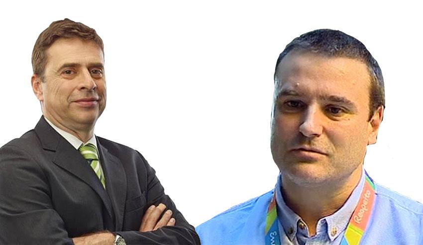 Pedro Moura e Carlos León em Tóquio 2020
