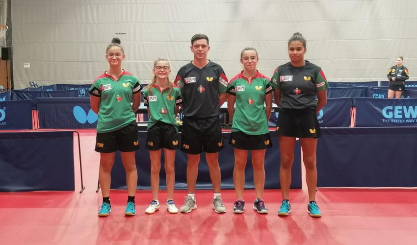 Matilde Pinto e Mariana Santa Comba disputaram quartos de final em Belgrado