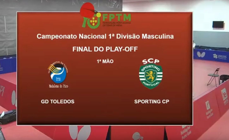 1.ª Divisão Masculina – 2020/2021 – Final – 1.ª Mão