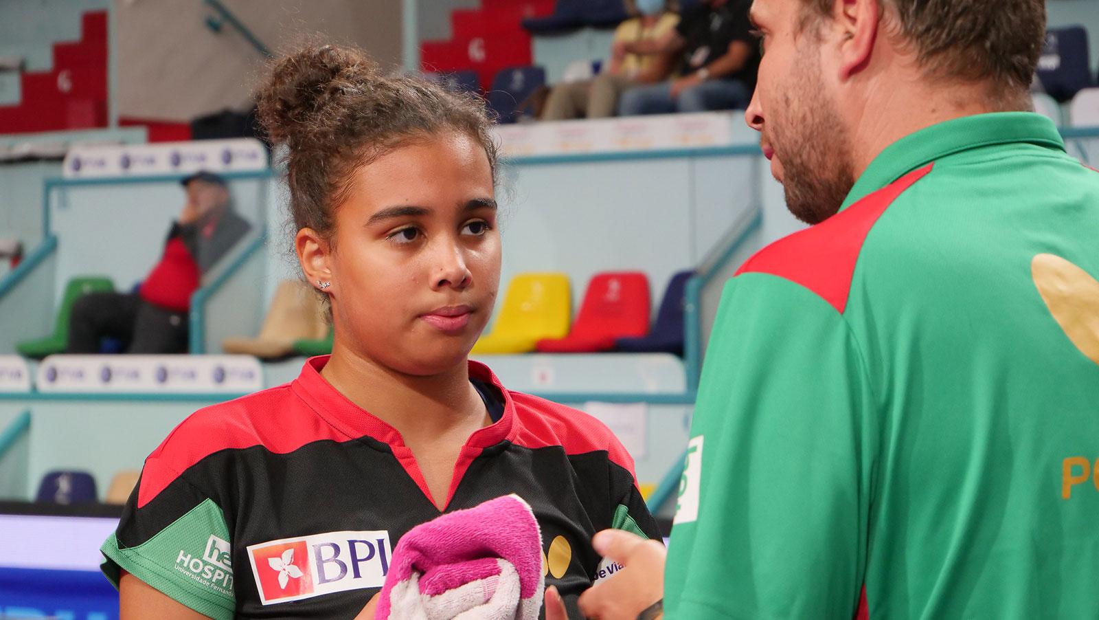 Matilde Pinto iniciou disputa do Top 10 Europeu de jovens