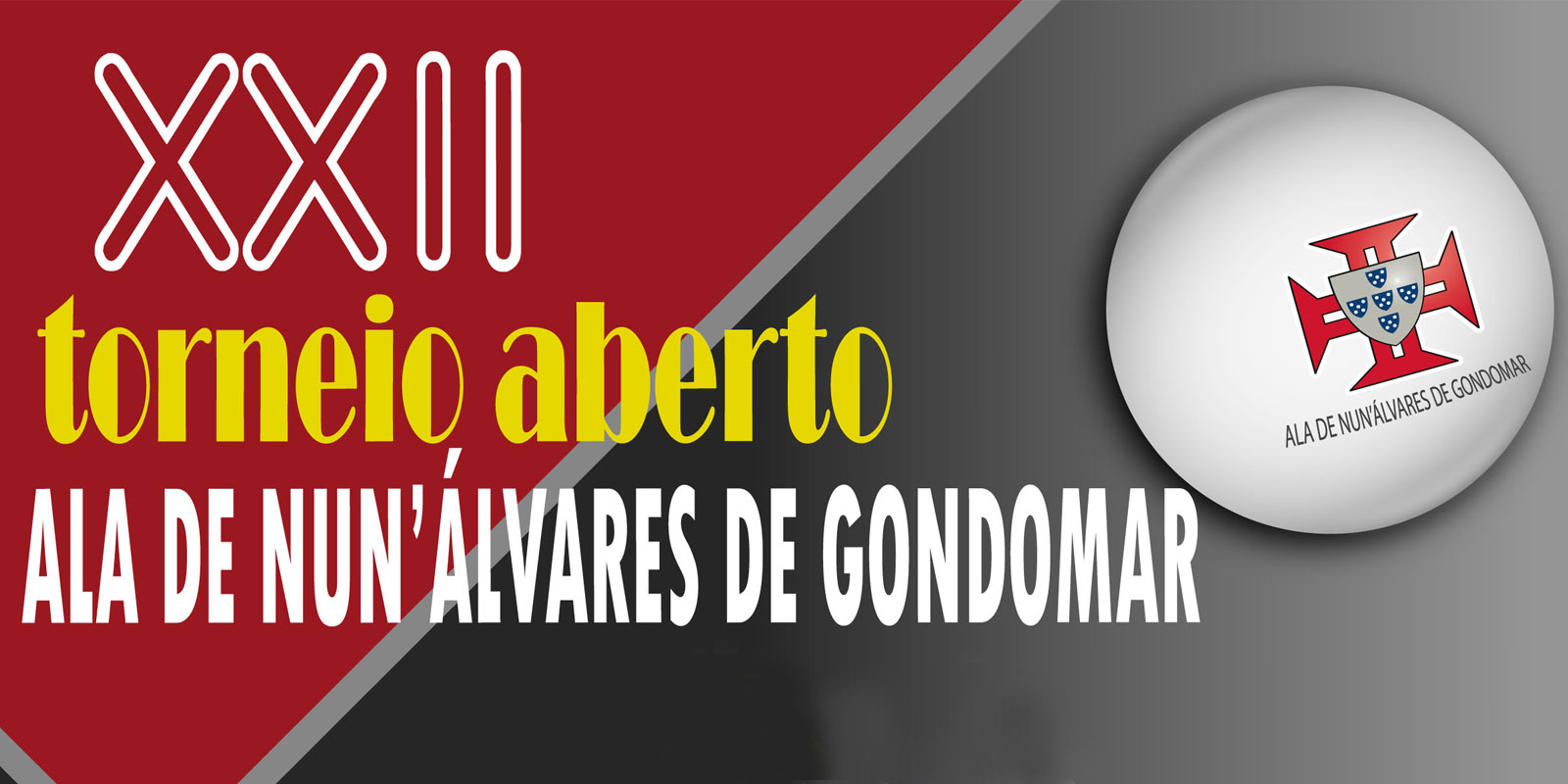 Inscrições para o 22.º Torneio Ala Nun'Álvares